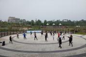 서산시, 야외활동 프로그램 야간체조광장 운영 재개