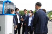 서산시, 홍정기 환경부 차관 충청권대기환경연구소 방문